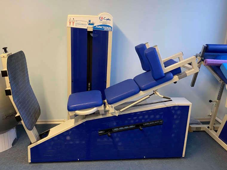 Krankengymnastikgerät in der Praxis für Physiotherapie und Osteopathie in Reisbach